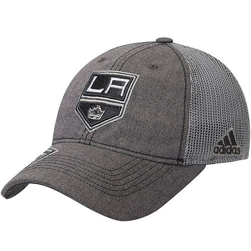 Men's adidas Gray Los Angeles Kings Travel & Training Slouch Adjustable Hat