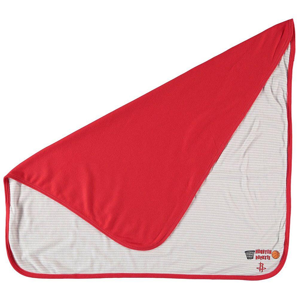 Infant Red Houston Rockets Lil Kicker Baby Blanket