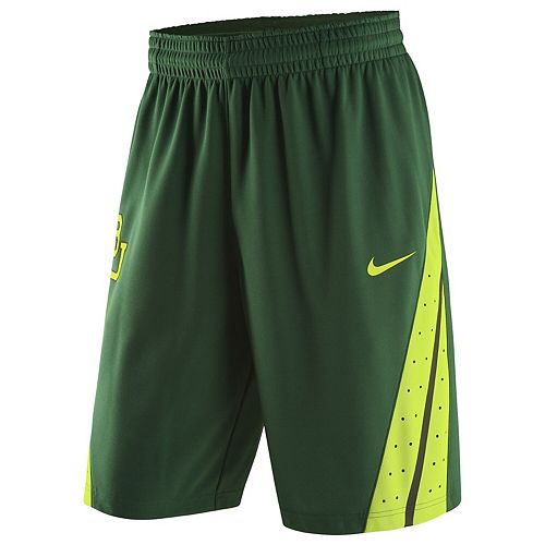 Men's Nike Green Baylor Bears Replica On-Court Basketball Shorts