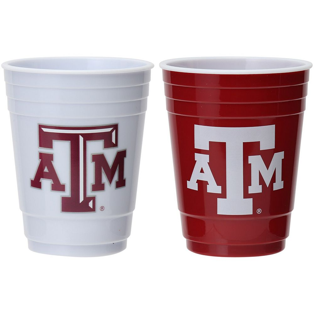 Texas A&M Aggies Two-Pack Home And Away Plastic Cup