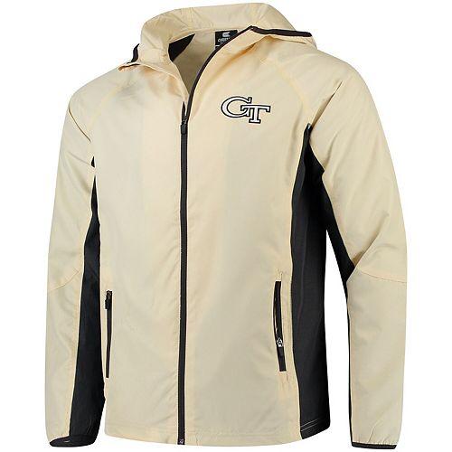 Men's Colosseum Gold Georgia Tech Yellow Jackets Archer Full-Zip Jacket