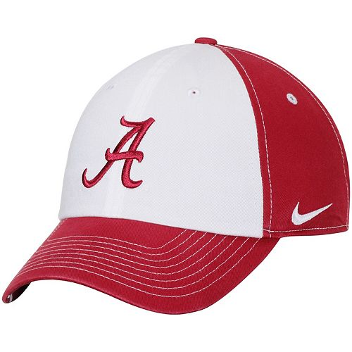 Women's Nike White/Crimson Alabama Crimson Tide Logo Adjustable Hat