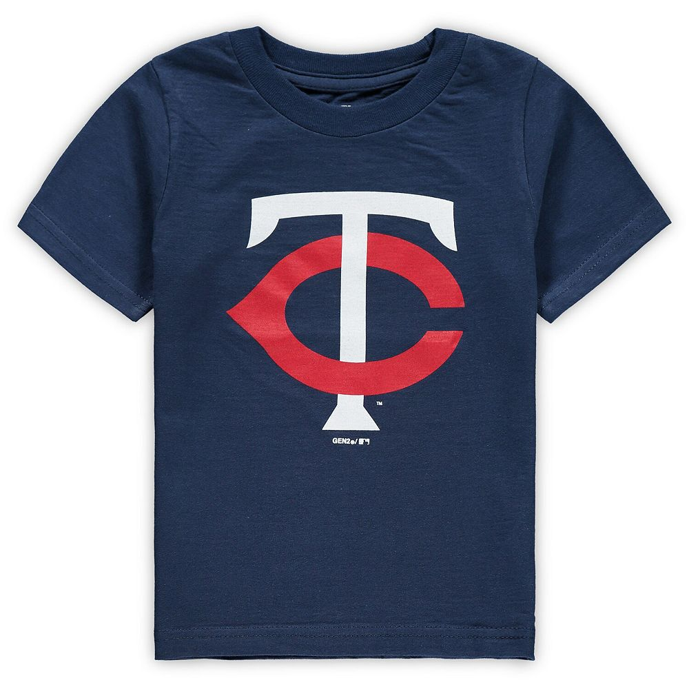 Toddler Navy Minnesota Twins Primary Team Logo T-Shirt