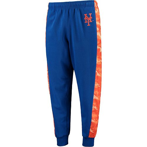 Men's Royal New York Mets Printed Poly Insert Jogger Pants