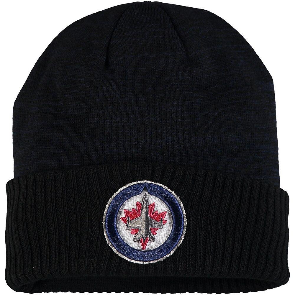 Men's Fanatics Branded Navy Winnipeg Jets Space Dye Cuffed Knit Hat