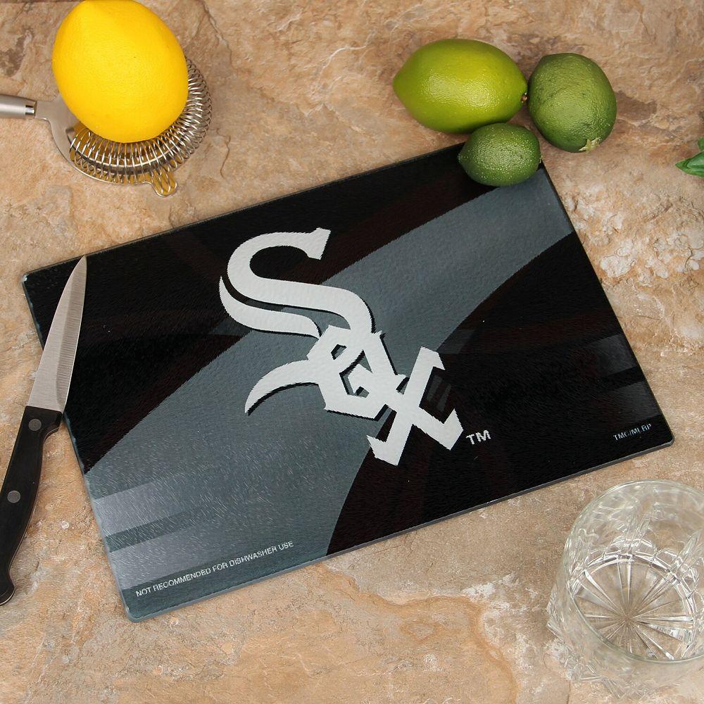 Chicago White Sox 8'' x 11.75'' Carbon Fiber Cutting Board