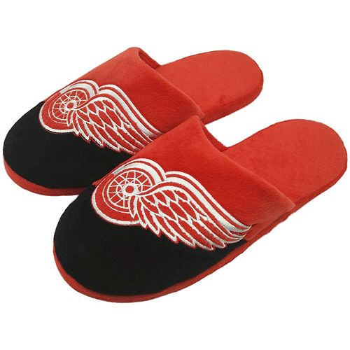 Men's Detroit Red Wings Colorblock Slide Slippers