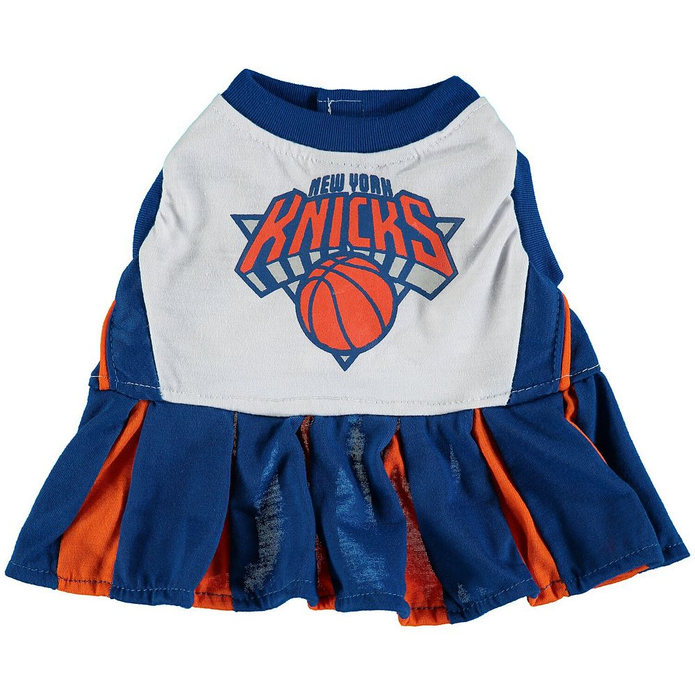 New York Knicks Dog Cheerleader Outfit