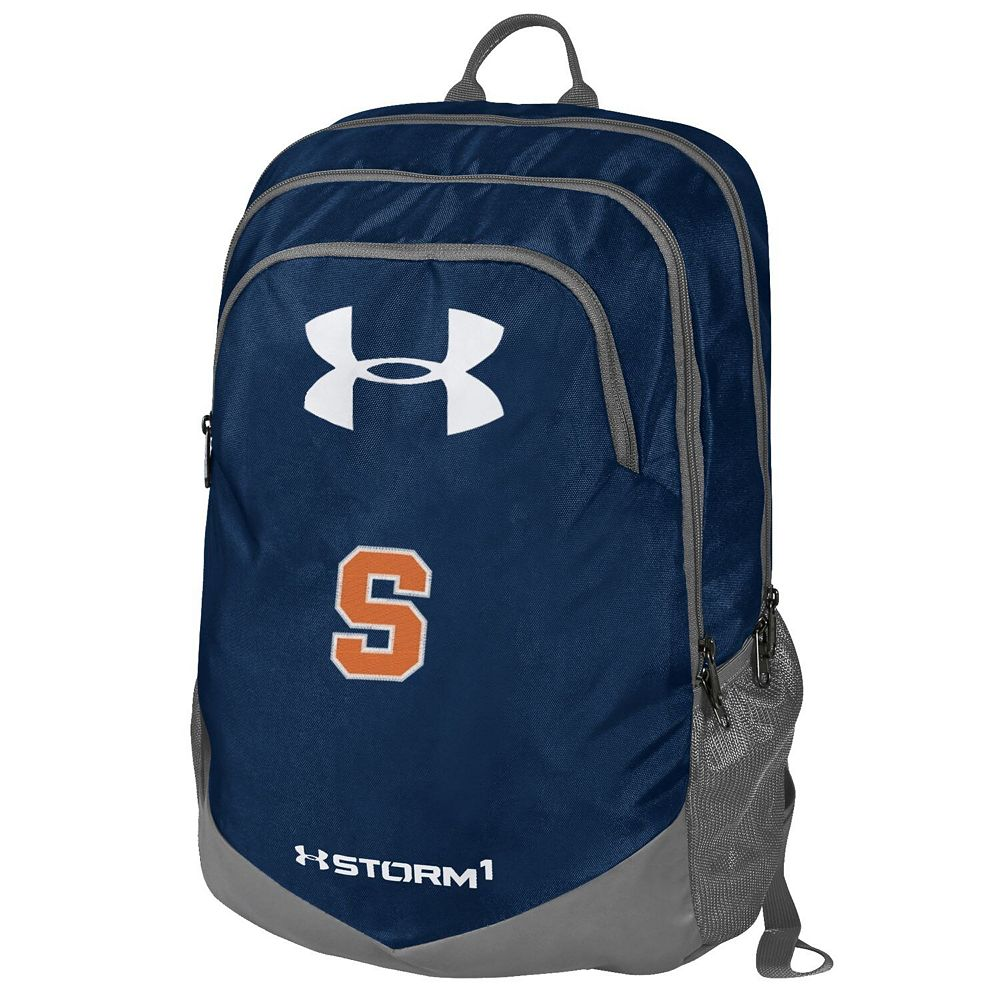 Under Armour Navy Syracuse Orange Scrimmage Performance Backpack