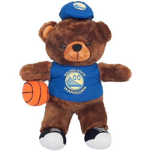 Golden State Warriors Locker Room Buddy Dress Me Plush Bear Kit