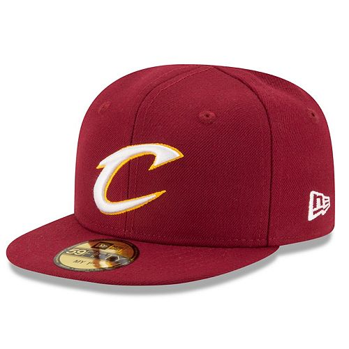 Infant New Era Wine Cleveland Cavaliers Current Logo My 1st 59FIFTY Fitted Hat