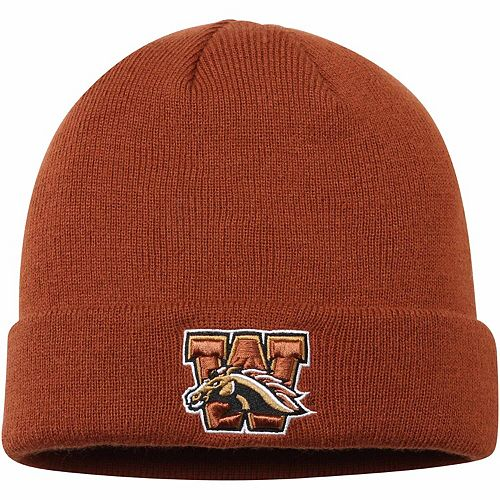 Men's Top of the World Brown Western Michigan Broncos Jack Frost Cuffed Knit Hat