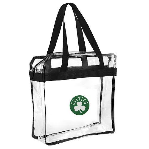 Boston Celtics Clear Messenger Basic Tote Bag