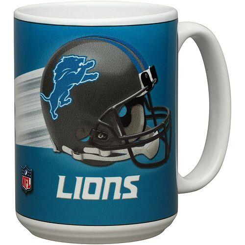 Detroit Lions 15oz. Team 3D Graphic Mug