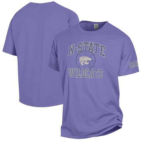 Men's Purple Kansas State Wildcats Basketball Lavender Out T-Shirt