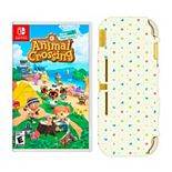Animal Crossing: New Horizons Game & Switch Light Case Bundle for Nintendo Switch