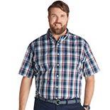 Big & Tall IZOD Advantage Classic-Fit Performance Button-Down Shirt