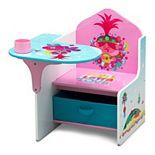 DreamWorks Trolls World Tour Chair Desk with Storage Bin by Delta Children