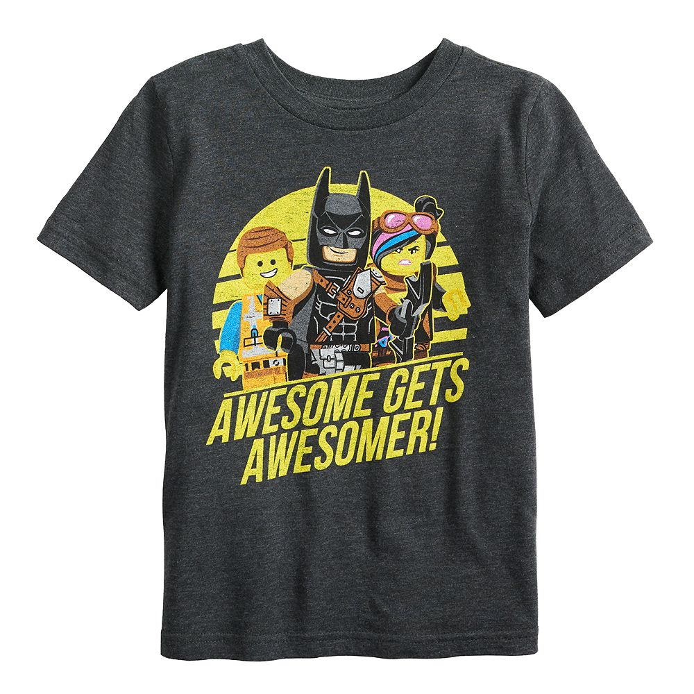 "Boys 4-12 Jumping Beans® The LEGO Movie ""Awesome Gets Awesomer"" Graphic Tee"