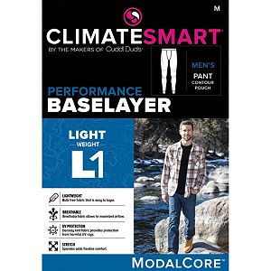 Men's Climatesmart® by Cuddl Duds Lightweight ModalCore Performance Base Layer Pants