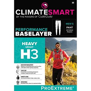 Men's Climatesmart® by Cuddl Duds Heavyweight ProExtreme Performance Base Layer Pants