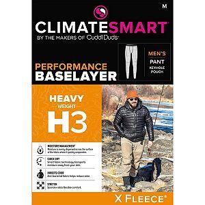 Men's Climatesmart® by Cuddl Duds Heavyweight X Fleece Performance Base Layer Pants