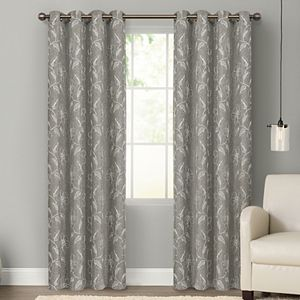 Sonoma Goods For Life® 2-pack Floral Embroidered Dynasty Blackout Window Curtains