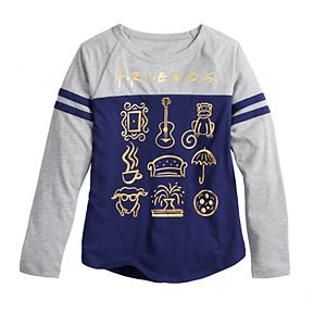 Girls 7-16 & Plus Size Friends Icons Graphic Tee