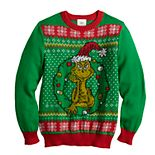 Boys 8-20 Dr. Seuss' The Grinch Who Stole Christmas Ugly Christmas Sweater