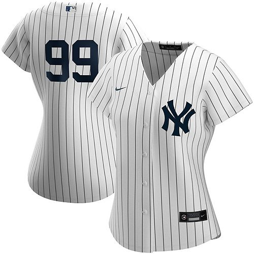 Women's Nike Aaron Judge White New York Yankees Home 2020 Replica Player Jersey