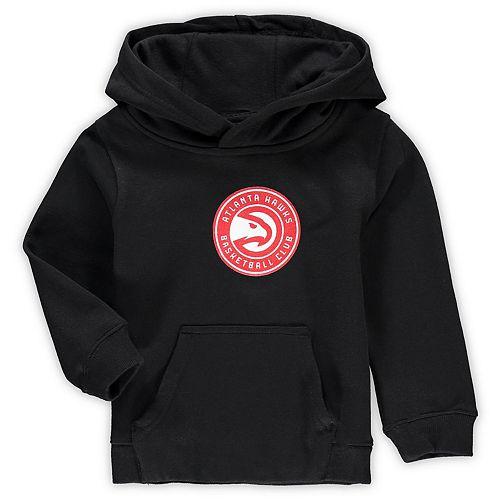 Preschool & Toddler Black Atlanta Hawks Primary Logo Pullover Hoodie