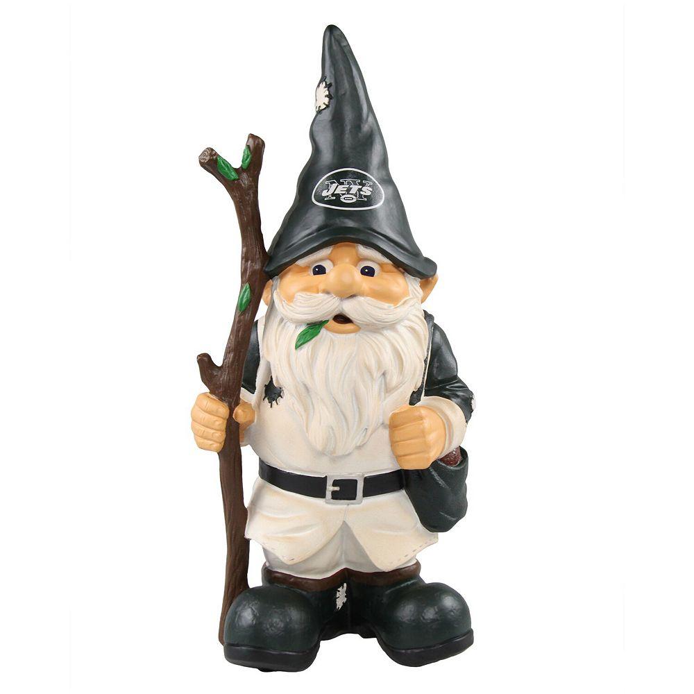 New York Jets Holding Stick Gnome