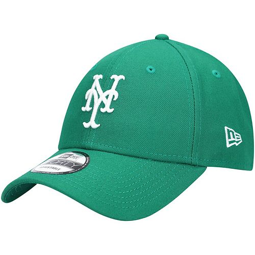 Men's New Era Green New York Mets St. Patrick's League 9FORTY Adjustable Hat