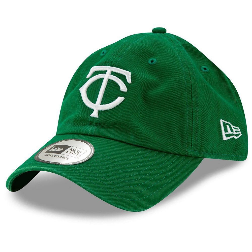 Men's New Era Green Minnesota Twins St. Patrick's Day Casual Classic Adjustable Hat