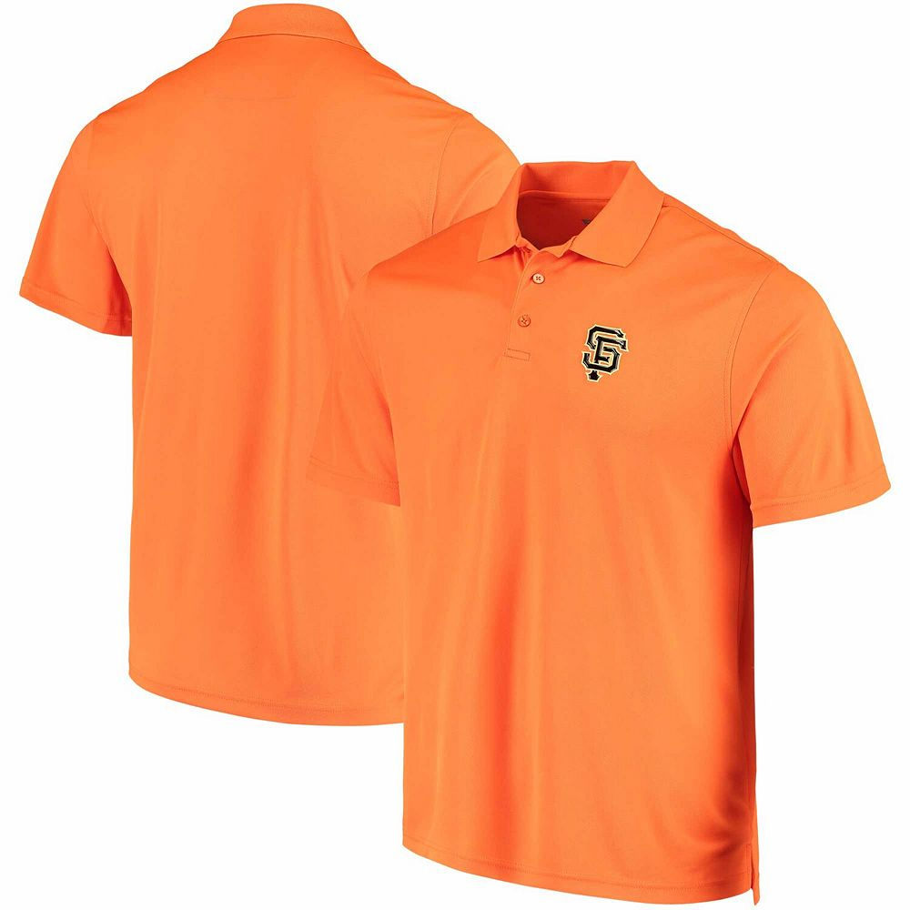 Men's Levelwear Orange San Francisco Giants Omaha One-Hit Polo