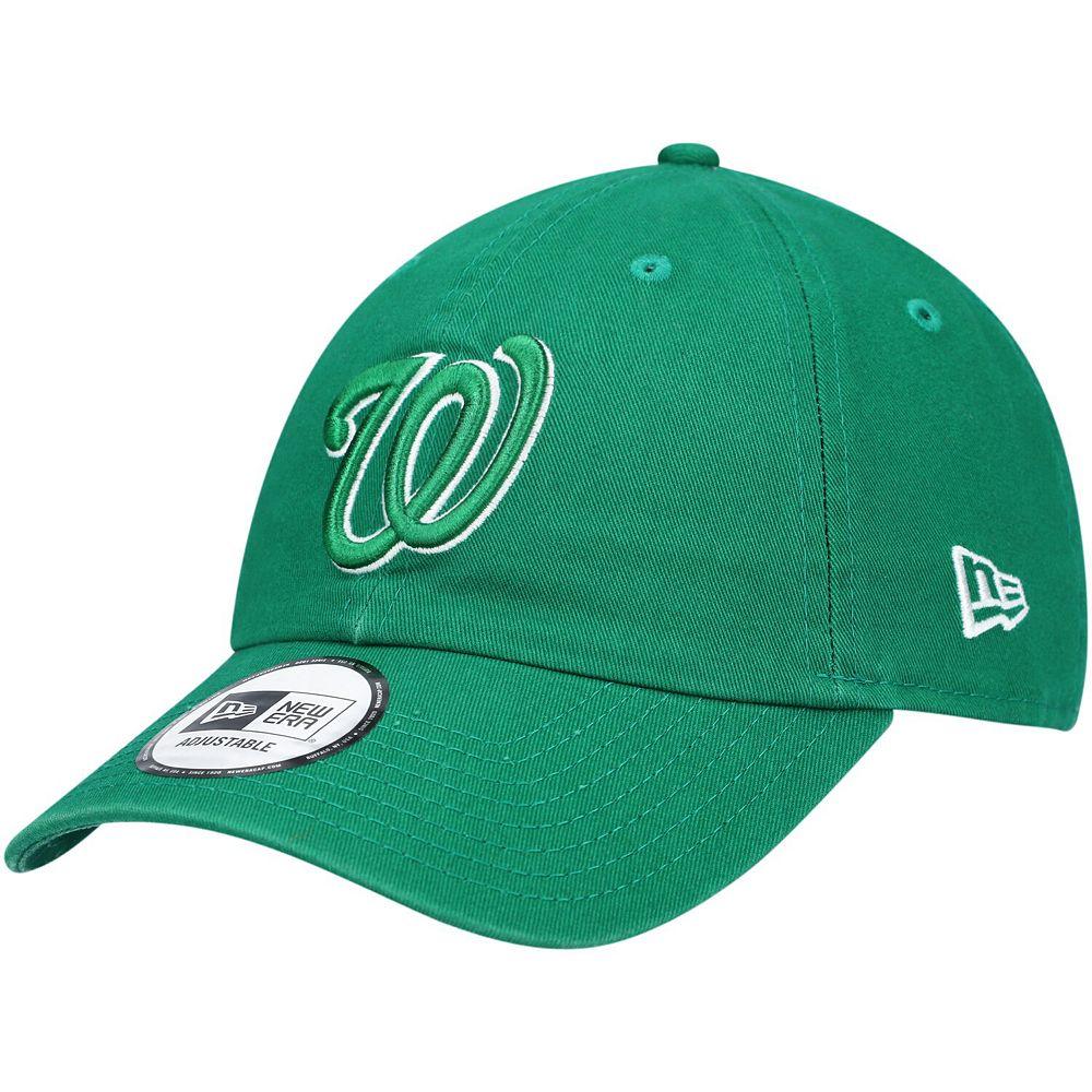 Men's New Era Green Washington Nationals St. Patrick's Day Casual Classic Adjustable Hat