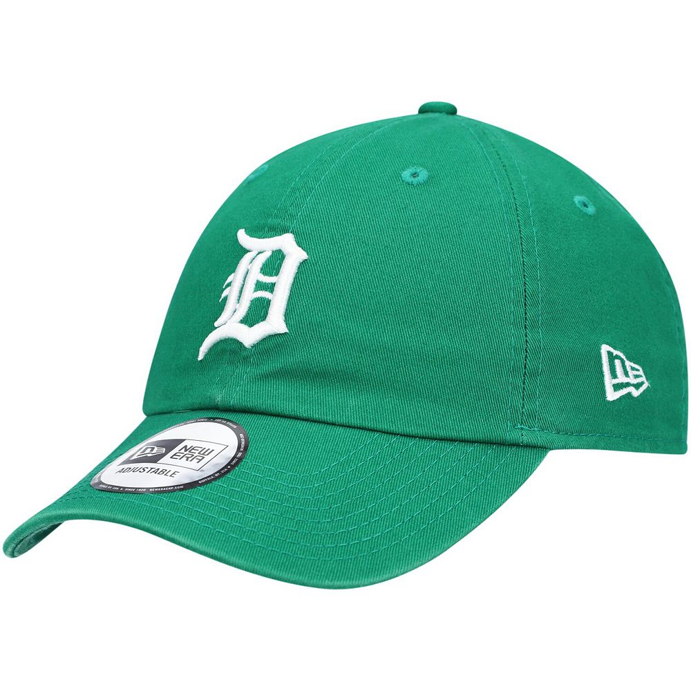 Men's New Era Green Detroit Tigers St. Patrick's Day Casual Classic Adjustable Hat