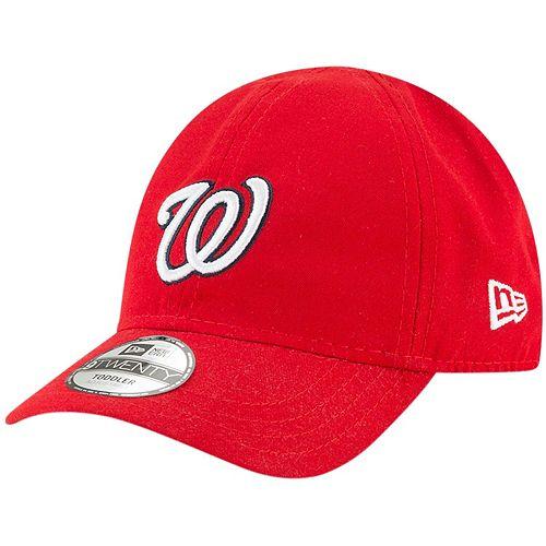 Toddler New Era Red Washington Nationals My 1st 9TWENTY Adjustable Hat