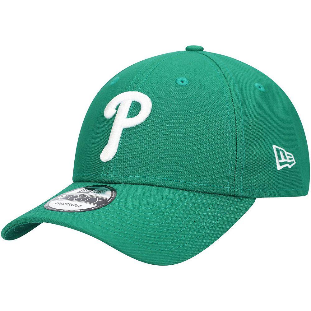 Men's New Era Green Philadelphia Phillies St. Patrick's League 9FORTY Adjustable Hat