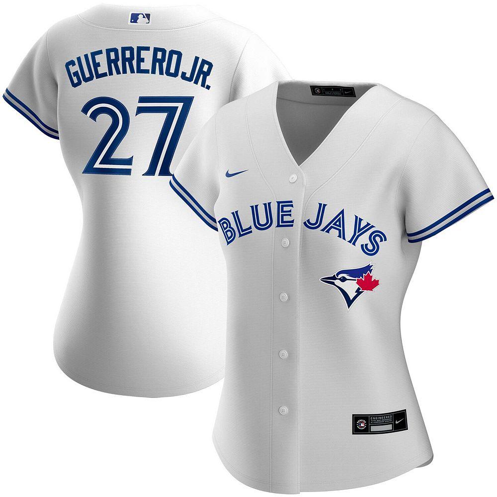 Women's Nike Vladimir Guerrero Jr. White Toronto Blue Jays Home 2020 Replica Player Jersey