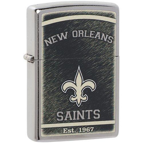 Zippo New Orleans Saints Team Logo Lighter