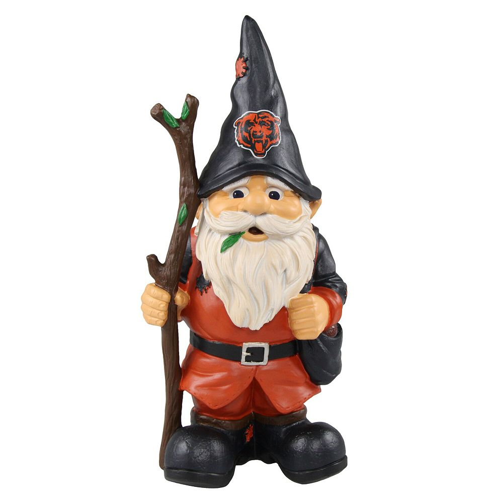 Chicago Bears Holding Stick Gnome