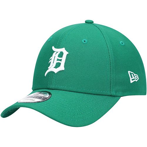 Men's New Era Green Detroit Tigers St. Patrick's League 9FORTY Adjustable Hat