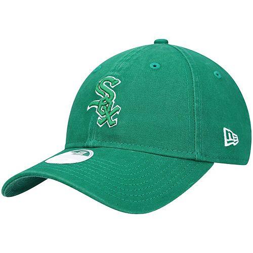 Women's New Era Green Chicago White Sox St. Patrick's Core Classic 9TWENTY Adjustable Hat
