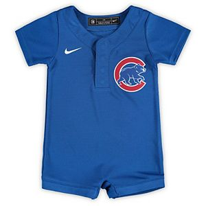 Newborn & Infant Nike Royal Chicago Cubs Official Jersey Romper