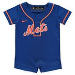 Newborn & Infant Nike Royal New York Mets Official Jersey Romper