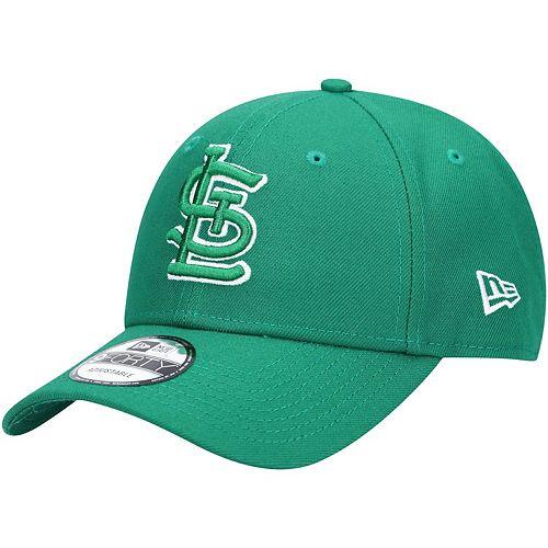 Men's New Era Green St. Louis Cardinals St. Patrick's League 9FORTY Adjustable Hat
