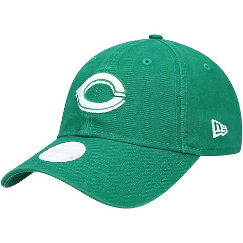 Women's New Era Green Cincinnati Reds St. Patrick's Core Classic 9TWENTY Adjustable Hat