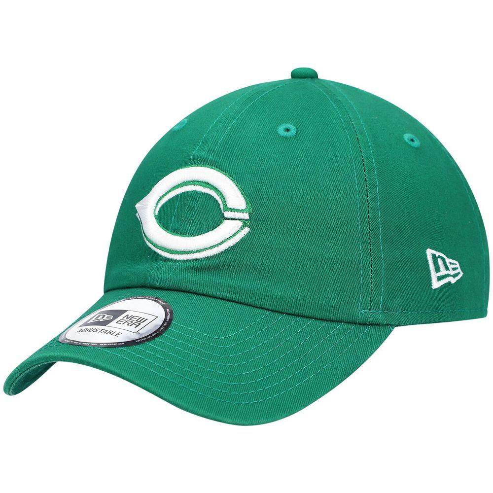 Men's New Era Green Cincinnati Reds St. Patrick's Day Casual Classic Adjustable Hat