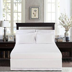 Luxury Hotel Hemstitch Bedskirt
